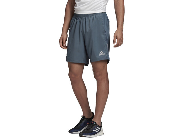 "adidas OWN The Run Shorts 7"" Herrer, blå"
